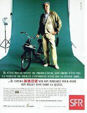 Publicité Advertising 087  1998  Cegetel   réseau SFR   mobile portable