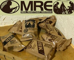 US USA MRE MILITARY RATION PACK RCIR CASE SELECT MENU 2022 MEALS READY TO EAT