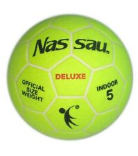 NASSAU Deluxe Indoor Soccer Ball Football Official Size 5