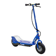 Razor E300 Electric 24 Volt Rechargeable Motorized Ride On Kids Scooter, Blue