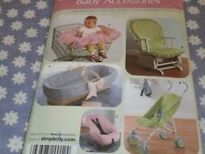 SIMPLICITY 4636 BABY ACCESSORIES CAR SEAT STROLLER SHOP  COVERS  PATTERN-UNCUT-
