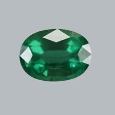 Certified 0.88ct Zambia Natural Emerald Oval ~4 X 5 Loose Gemstone 506_VIDEO