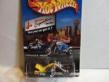 Hot Wheels Limited Edition Jiffy Lube Yellow Blast Lane Motorcycle