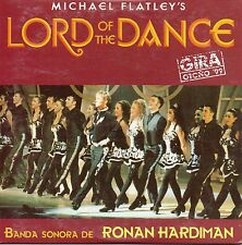 "MICHAEL FLATLEY / RONAN HARDIMAN ""LORD OF THE DANCE"" SPANISH PROMO CD SINGLE"
