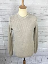 Men's TOPMAN Jumper - XXS - Beige - Great Condition