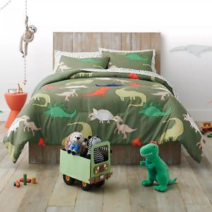 Dinosaur Comforter Set Pillowfort, Size Full/Queen