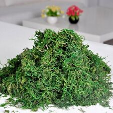 Green Artificial Reindeer Moss For Lining Plant Flower Garland Decor LW
