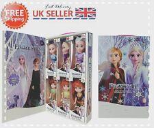 6PCS Birthday Gift Playset Frozen 2 Princess Elsa Anna Doll Toy Gift Box Toy NEW
