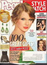 People Style Watch December 2012 January 2013 Taylor Swift w/ML 052217nonDBE
