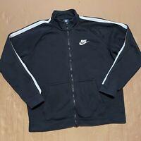 Men's Y2K Blue Tag Nike Full Zip Through Sweatshirt Jacket Size XL