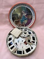 VINTAGE SLIDE LOT 206 From 1973 In a American Bicentennial Tin 1776-1976