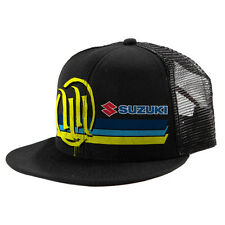 Suzuki Hart & Huntington Retro Trucker Snap Back Hat - Genuine Suzuki - New