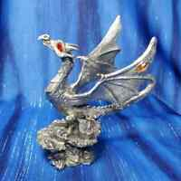 Born to Be Wild Dragon Pewter Figurine Rawcliffe US Made Hatchlings Babies