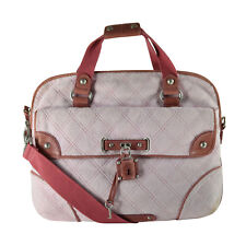 NWT Juicy Couture Quilted Terry Laptop Shoulder Bag Pink RARE! ON SALE!!