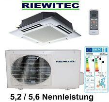 Deckeneinbaukassette Klimaanlage  RIEWITEC, (5,2 / 5,6 KW Nennleist.), A++/A+