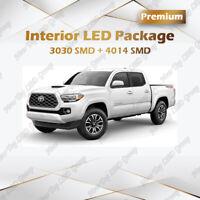 Super Bright White LED Lights Interior Package Kit for 2016 - 2021 Toyota Tacoma