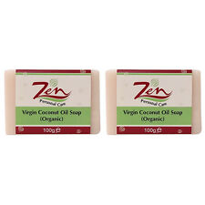 VIRGIN COCONUT OIL SOAP BY ZEN Pk 2 Made from cold process first extracts of VCO