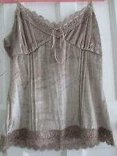 New Size 16 Next Velvet Feel Top