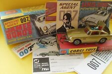 "CORGI 261 James Bond'S ""GOLDFINGER"" ASTON MARTIN D.B.5"