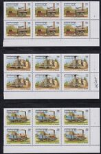 CAMBODIA, 1999. Trains Blocks 1797-1802, Mint