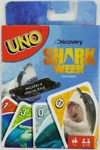 Shark Week UNO Card Game Mattel