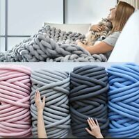 Super Chunky Yarn Arm Knitting Blanket Bulky Yarn For Hand Knitting DIY Blanket