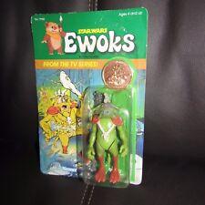 "KENNER vintage STAR WARS Ewoks/Droids TV show""King Gorneesh""moc Unpeged.GEM!."
