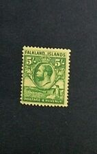 FALKLAND ISLANDS 1929 5s SG 124 SC 62 MLH