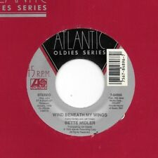 BETTE MIDLER * 45 * Wind Beneath My Wings * 1988 * UNPLAYED Vinyl! * RI ATLANTIC