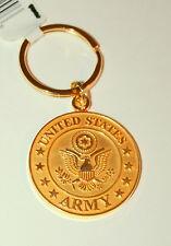 US Military Academy West Point Army Black Knight Football Brass Key Chain New