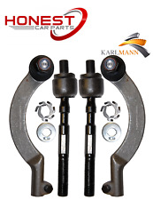 For VAUXHALL MOVANO 1998-2010 FRONT INNER & OUTER TRACK TIE ROD ENDS L&R 4 PIECE