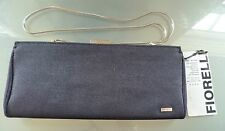 Fiorelli Ladies Clutch Bag Blue Chain Shoulder Strap BNWT Textile Summer Casual