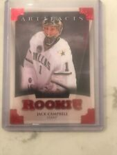 2013-14 JACK CAMPBELL UD ARTIFACTS  RUBY RED  247/299 RC ROOKIE