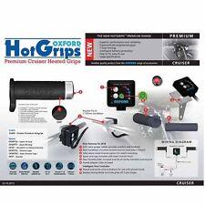 Oxford climatización F. Cruiser/Chopper electrónico 5-etapas sistema Hot-Grips