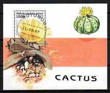Fleurs - Cactus Bénin (111) bloc oblitéré