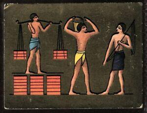 Tobacco Card, Cavanders, ANCIENT EGYPT, 1928, Large, #10