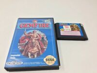 Gemfire (Sega Genesis, 1992) Game & Box, Authentic, Tested And Working
