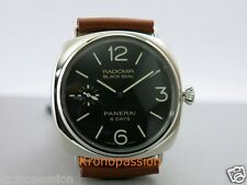 Panerai Radiomir Black Seal 8 Days 45mm PAM 609 R Series New !