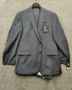 NWT Ralph Lauren Men's 2-Piece Suit  42LONG 36W Pants & Jacket