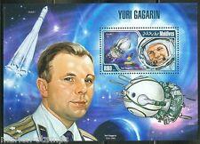 Maldives 2013 Yuri Gagarin Souvenir Sheet Mint Nh