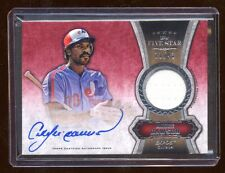 2012 TOPPS FIVE STAR ANDRE DAWSON AUTO JERSEY /43  RARE  HIGH END PRODUCT
