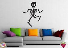 Wall Stickers Vinyl Decal Death Skull Skeleton Dance Pirate z1007