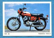 MOTO - Ed. Raf - Figurina/Sticker n. 38 - YAMAHA YAS 2 -Rec