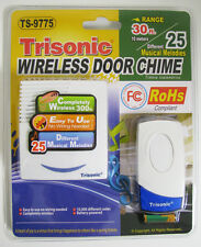 Wireless Door Chime / Door Bell Push Button Remote Control 25 Different Melodies