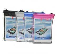 "FUNDA IMPERMEABLE PARA TABLET DE 8"" A 10.1""  EBOOK LIBRO SUMERGIBLE PLAYA NIEVE"