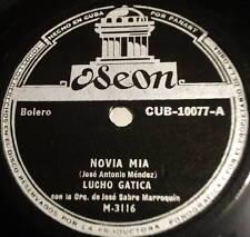 LUCHO GATICA Novia Mia LATIN 78 Odeon