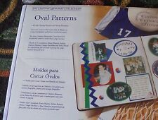 Creative Memories CCS 4 Oval  Cutting Patterns & Sizing Template NIP/NLA