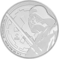 2018 Star Wars - Darth Vader 1oz .999 Silver Bullion Coin - NZ Mint