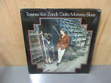"Townes Van Zandt ""Delta Momma Blues"" Poppy 1971 Promo In Shrink Sealed NM/Mint"