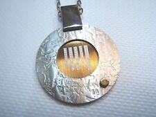 Catena uomo Nomination in acciaio con ciondolo componibile e oro 18K cm. 50